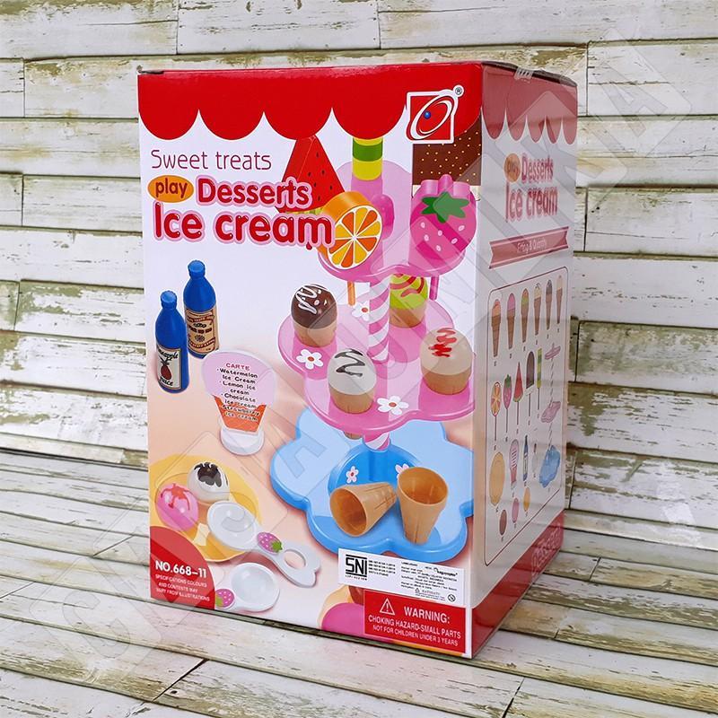 Desserts Ice Cream 668-11 - Mainan Anak Perempuan Jual Jualan
