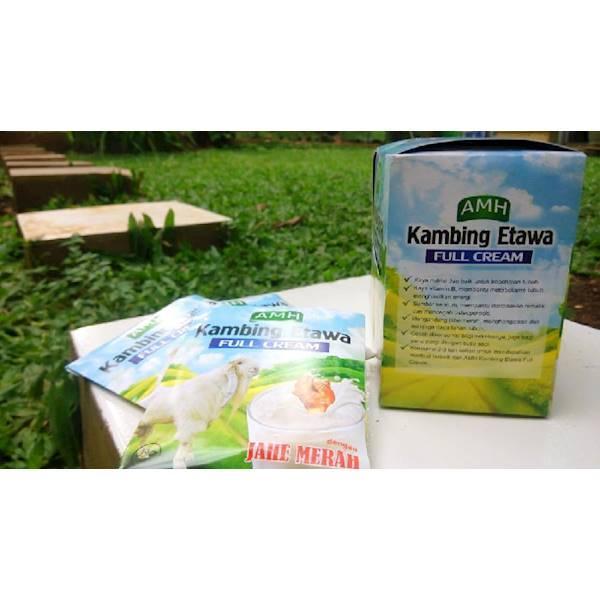 Susu Kambing Etawa AMH Full Cream Harga Per SACHET