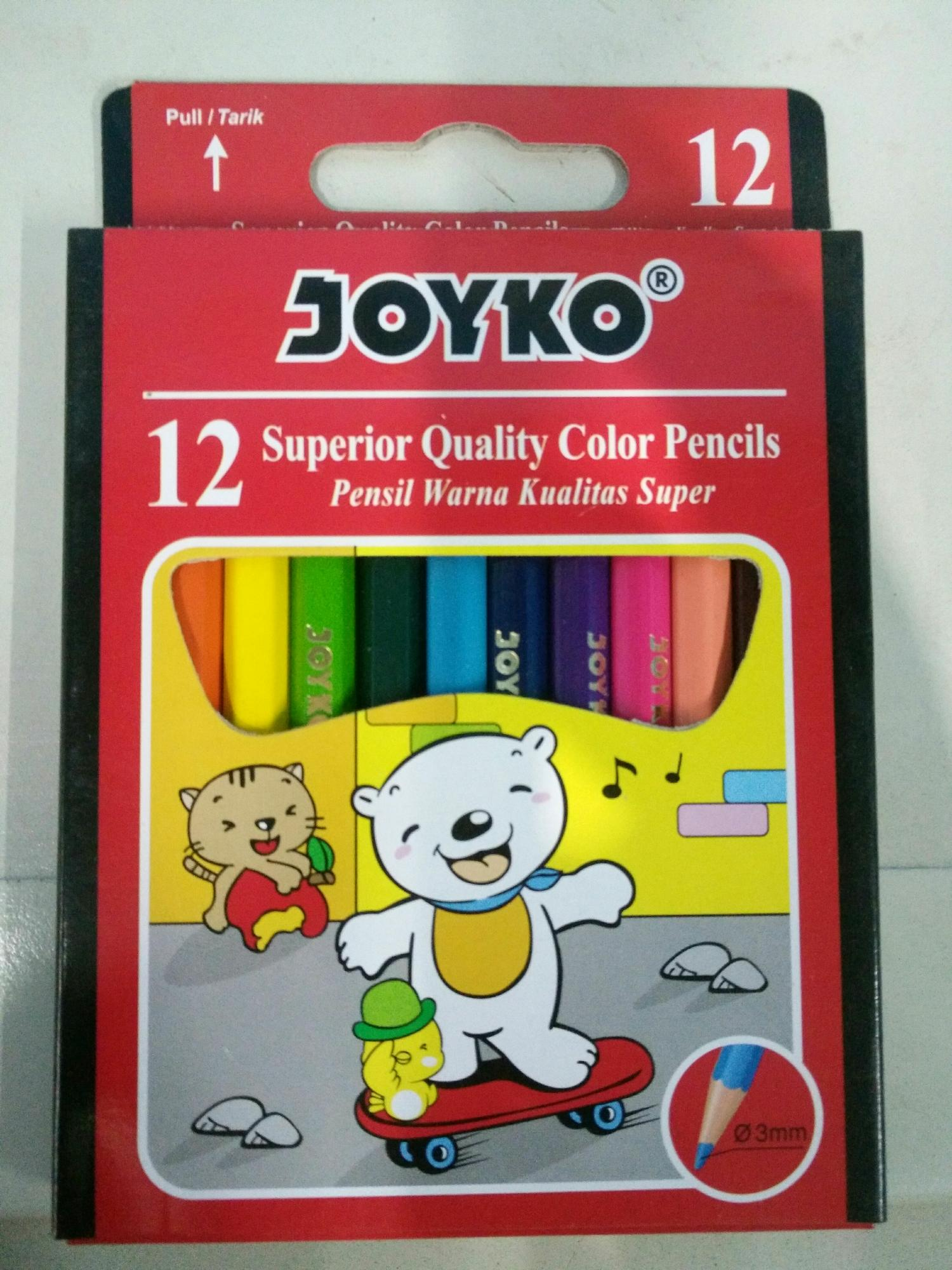 Jual Pensil 12 Warna Murah Garansi Dan Berkualitas Id Store Kenko Kecil Joyko Isi Pendekidr6500 Rp 7500
