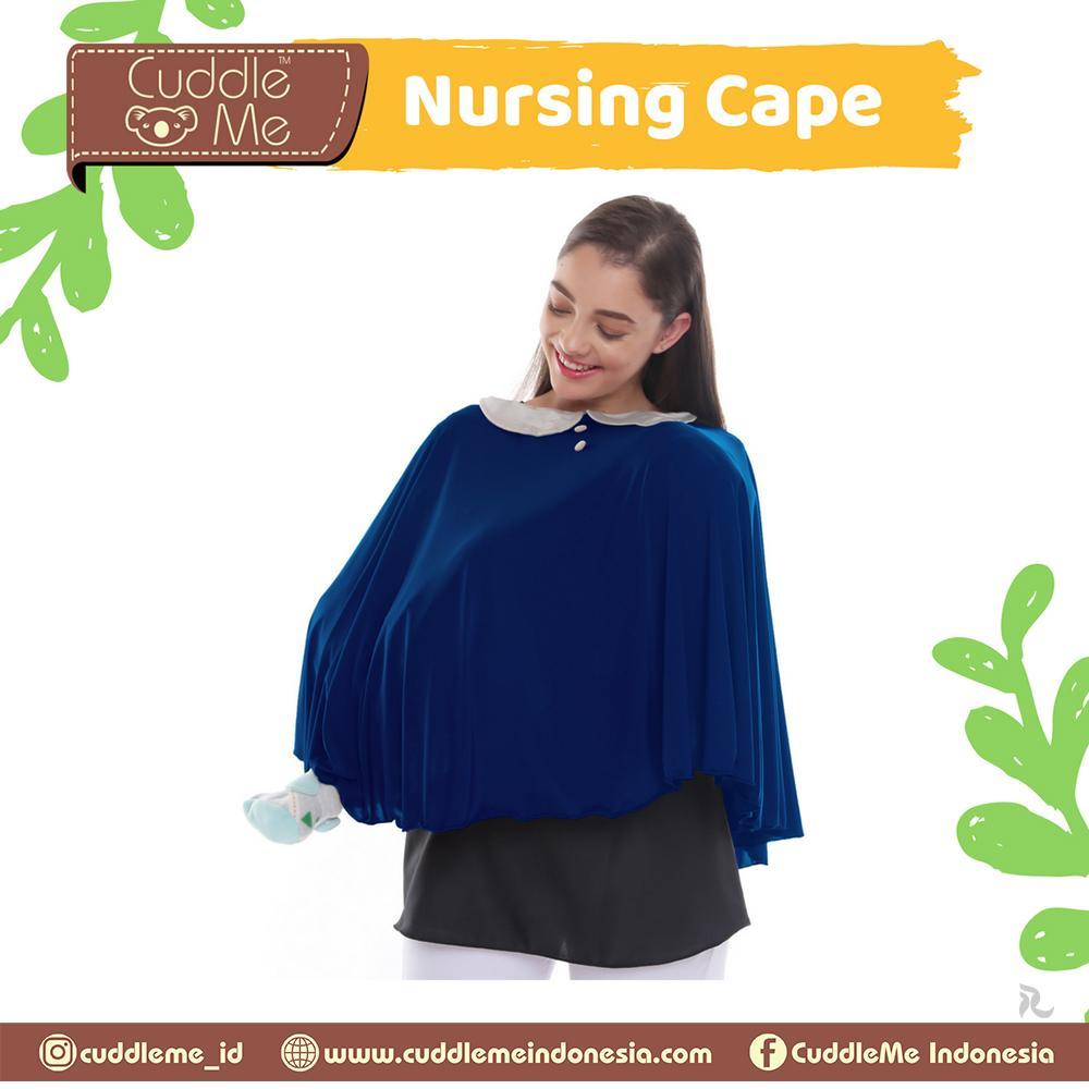 Fitur Apron Menyusui Nursing Cape Cuddle Me Mix Color Dan Mantel Bayi Baby Red