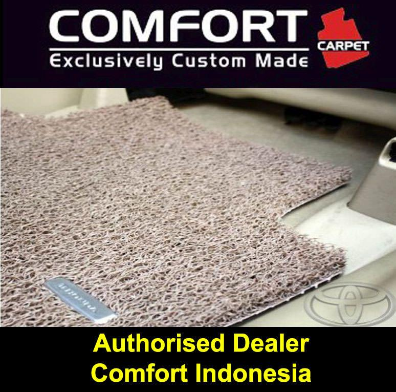 Karpet Mobil COMFORT Toyota Land Cruiser 2014-Up 3baris Deluxe BROWN (cokelat)