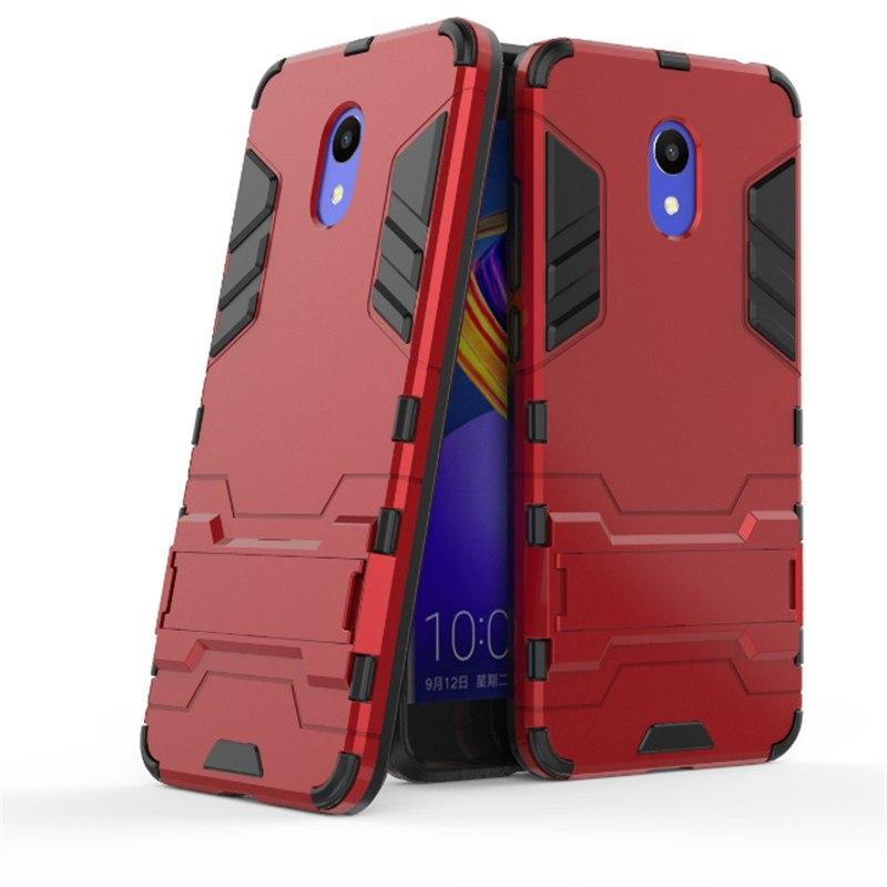 Case Meizu M6 Meilan 6 Ironman Armor Shield With Kickstand