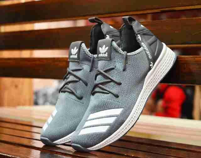 Promo sepatu adidas y3 grey casual import made in vietnam Diskon