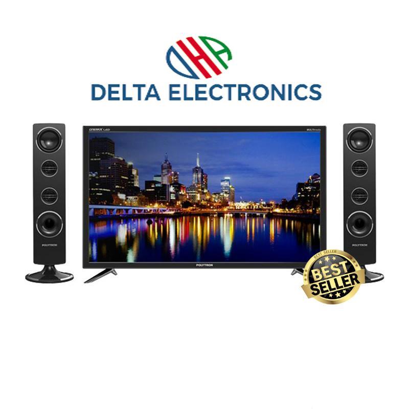 POLYTRON PLD32T7511 New TV LED 32 Inch + Speaker