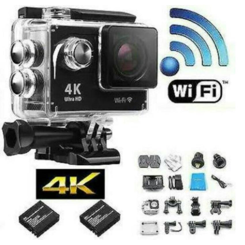 KOGAN Wifi Action Camera 4K Sports Ultra HD DV [Wifi/16MP] 30M Water Resistant