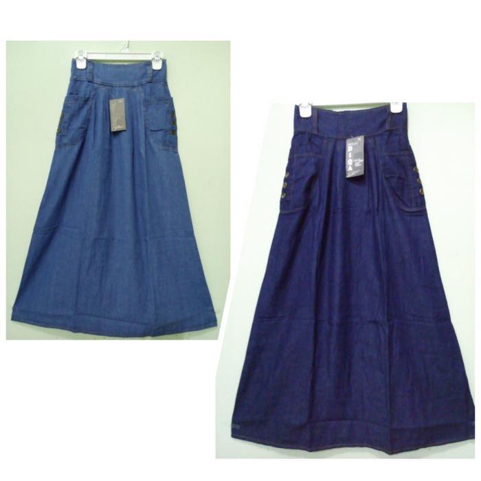 Rok maxi payung panjang wanita jumbo long skirt Gaby - maroon. Source · ROK JEANS SORAYA || ROK JEANS PANJANG DEWASAIDR103700. Rp 104.220.