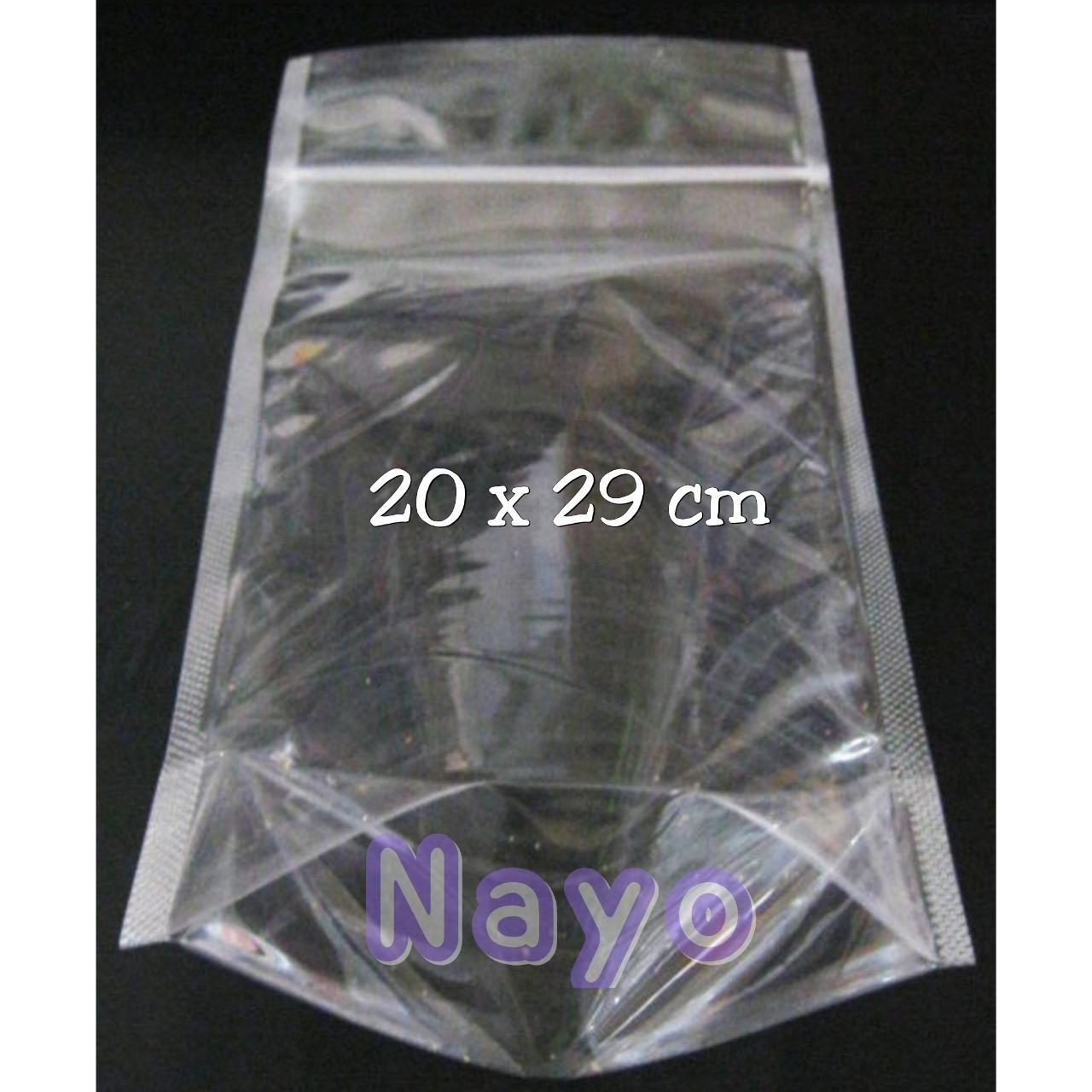 Cek Harga Baru Standing Pouch 14x22 Cm 100pc Plastik Klik Kemasan 10x176 Berditri 3