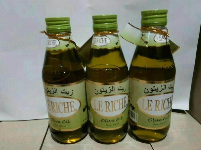 Minyak Zaitun Le Richie lerichie olive oil 300ml Jamin Original BISA COD