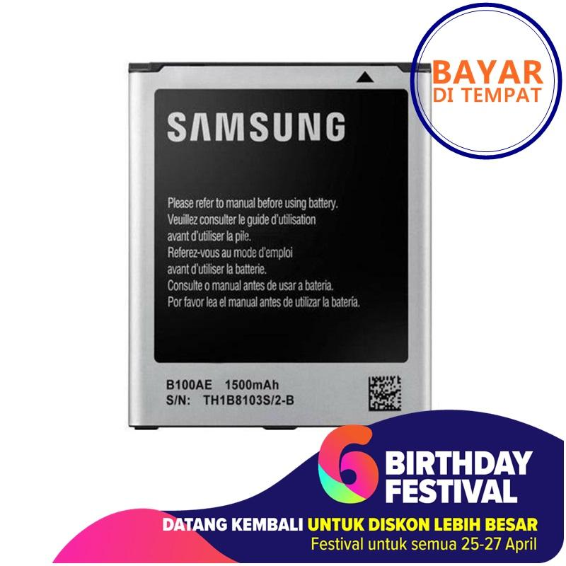 Samsung Battery B100AE Baterai for Samsung S7270 Galaxy Ace 3 / Galaxy V / Galaxy Ace 4 LTE - Original