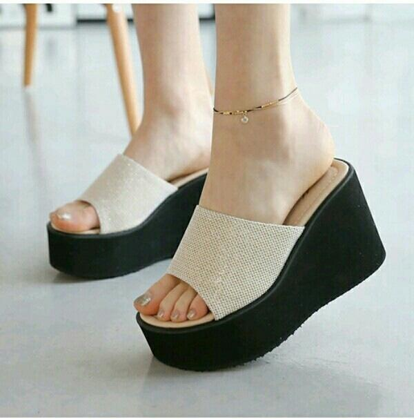 BEST SELLER WEDGES SHARON DUBAI EMAS