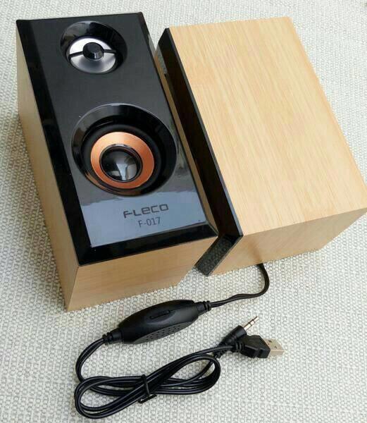 Referensi SPEAKER MULTIMEDIA FLECO F-017 / SPEAKER MULTIMEDIA FLECO speaker aktif / speaker laptop / speaker super bass