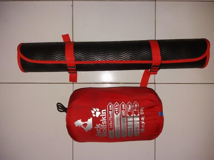 BEST SELLER!!! Sleeping Bag Polar + Matras Paket Murah NOT Eiger Consina Rei Avtech - gu6xwC