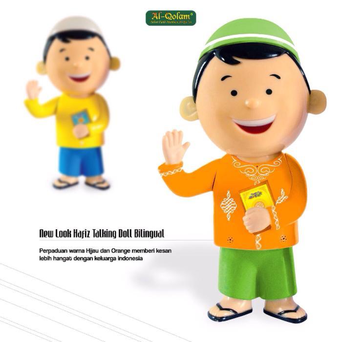 Boneka Ngaji Hafiz Mengaji Talking Doll Hafidz Bilingual New Version