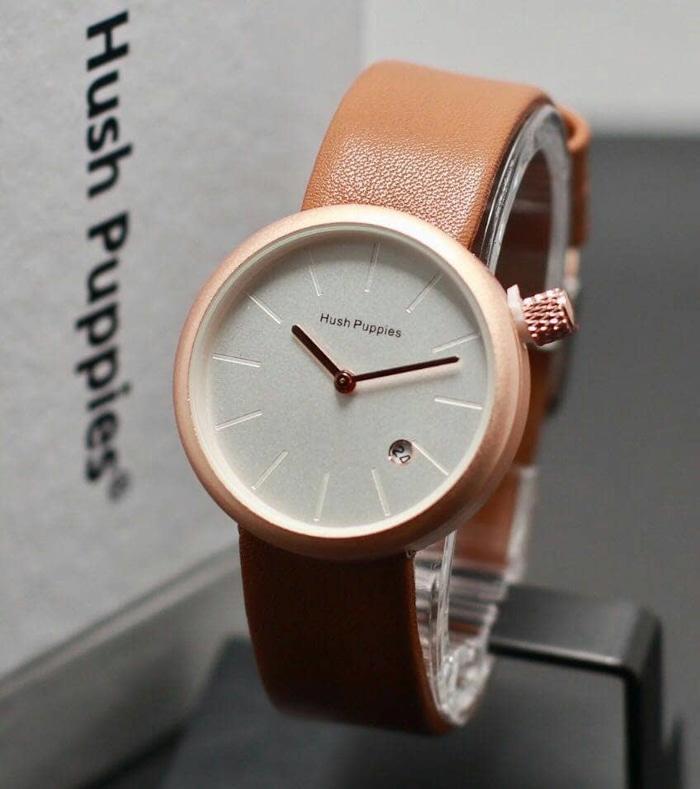 BEST SELLER -jam tangan wanita lucu Hush Puppies Bulat EST1958 - jam tangan  casul cantik ff6eb5b5f0