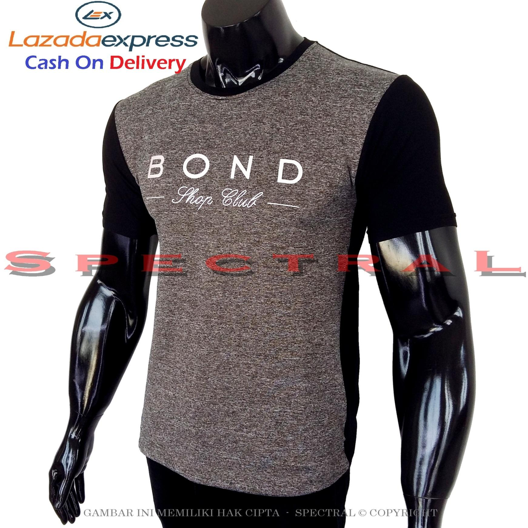 Spectral - Kaos Distro BOND Paris  Soft Rayon Viscose Lycra Pola M Fit To L Simple Fashionable Tidak Pasaran