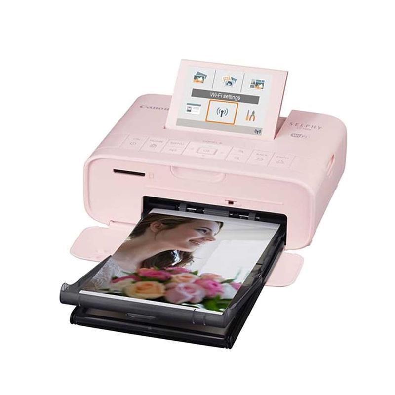 Canon Selphy CP1300 Compact Photo Printer - Pink