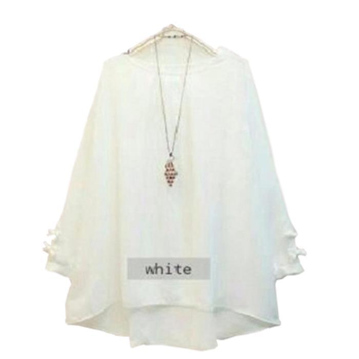Baju Atasan Erkud Tunik Baju Muslim Blus Muslim - Navy, XXL / Baju wanita / baju murah / baju atasan wanita / Baju wanita murah / baju wanita jumbo / baju polos / naju wanita polos / baju pesta / kemeja wanita