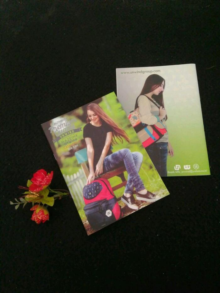 PROMO Katalog Tas Unwind Katalog Terbaru / Sling Bag Tas Ransel BERKUALITAS