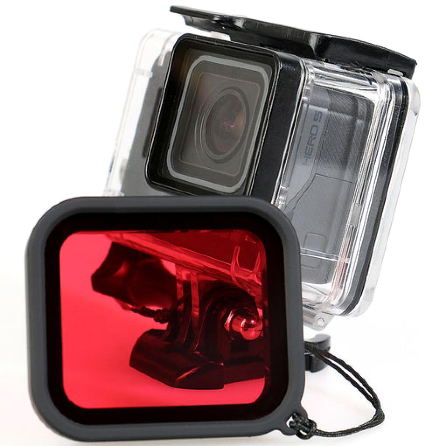 Red Filter Lens Camera for Gopro Hero 5