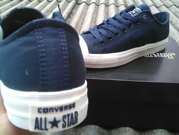 Gambar Produk Rinci Sepatu Converse All Star CT 2 Navy Lunarlon Premium  Original BNIB Terkini 25f5688140