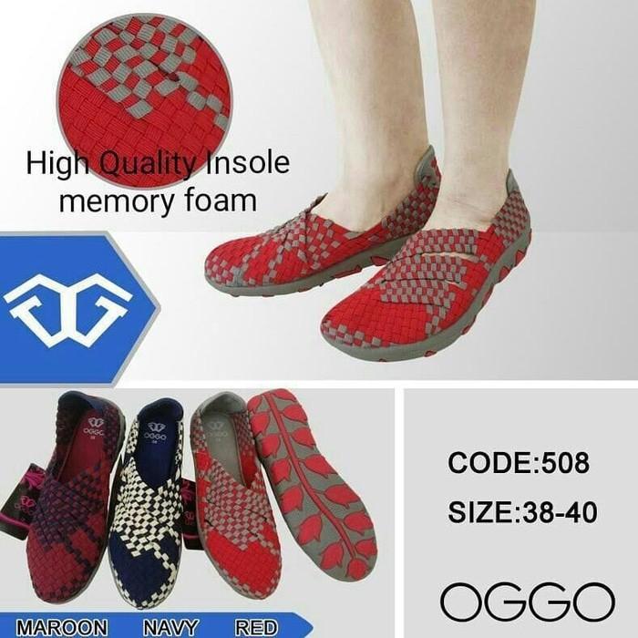 Promo New!! Sepatu Lulia Oggo Flat Type 508 Gratis Ongkir