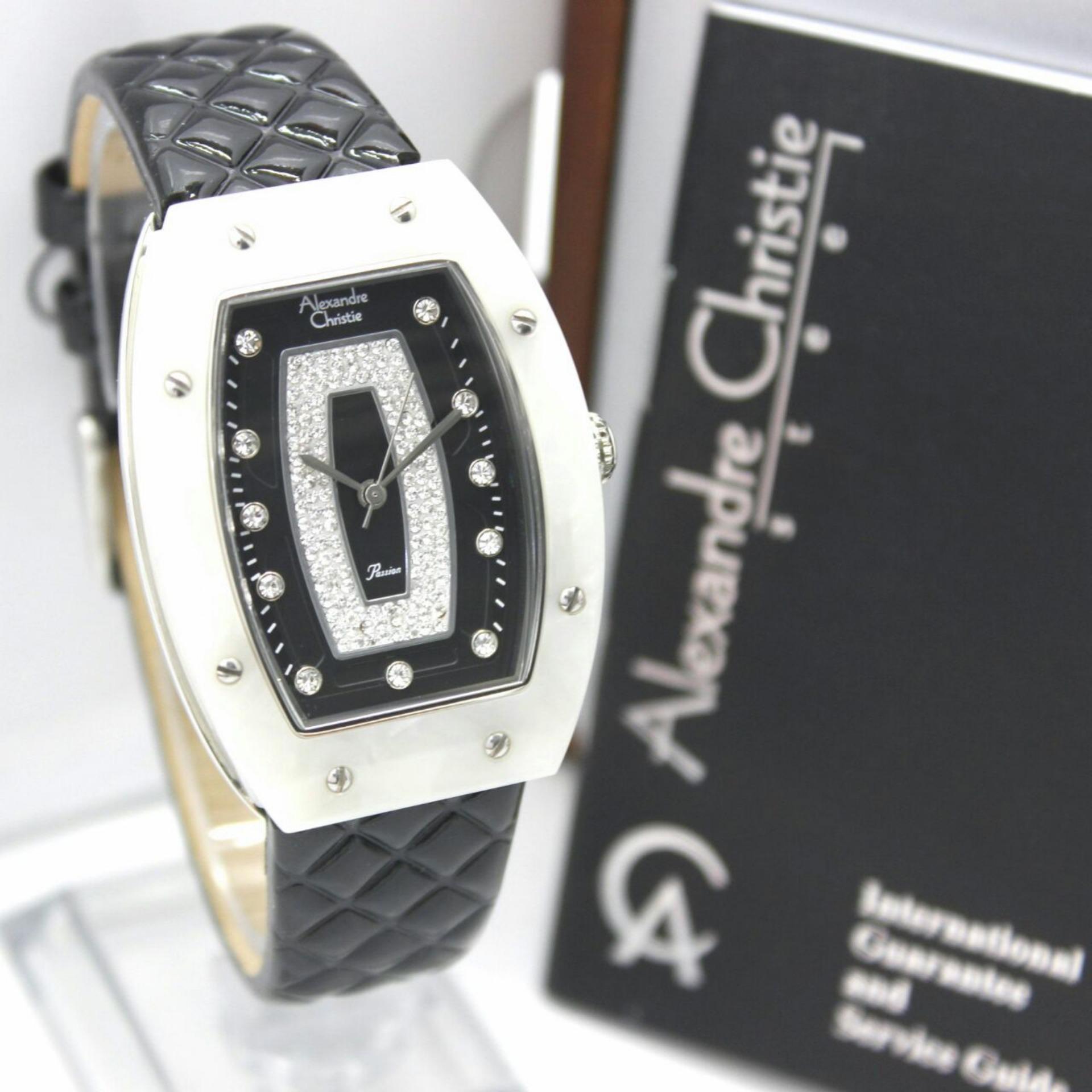 Alexandre Christie AC2638LH - Jam Tangan Casual Wanita Murah - Leather Strap