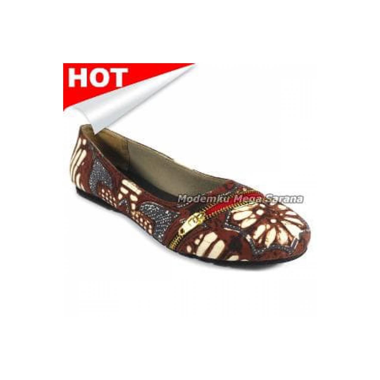 Sikaki Sepatu Batik Jogja Murah Motif SKK03 FREE ONGKIR