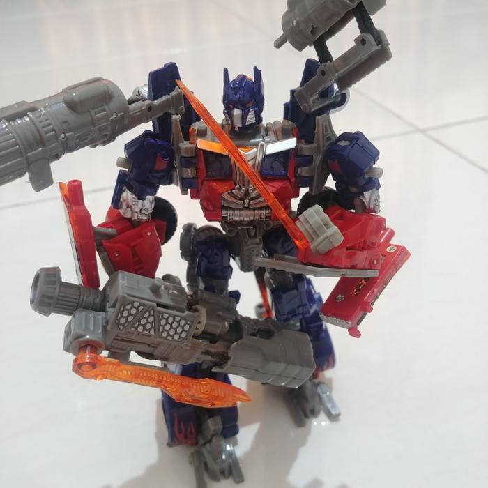 Robot Transformers Optimus Prime Mobil Truk 19cm Tobot Mainan Anak L.I.M.I.T.E.D
