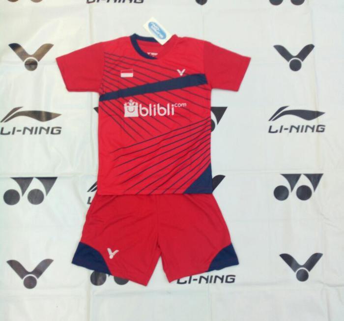 Baju Kaos Badminton Anak Victor V.26 Merah - qYWwxO
