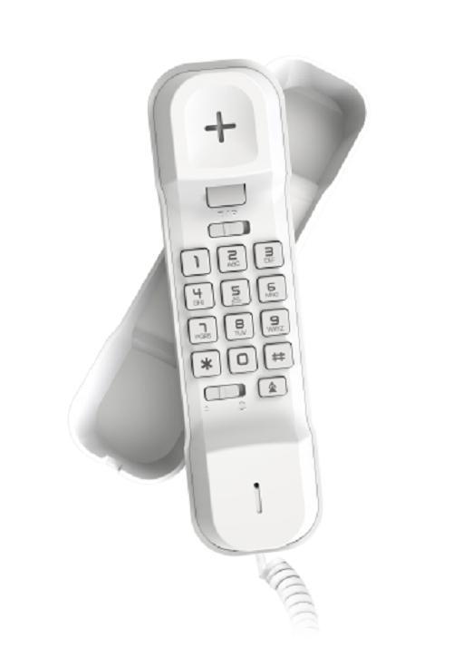Alcatel telepon telephone rumah office hotel T06 - putih