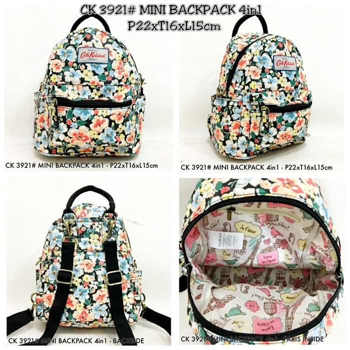 Cath Kidston 3921#  MINI  BACKPACK 4in1 - hc71qG