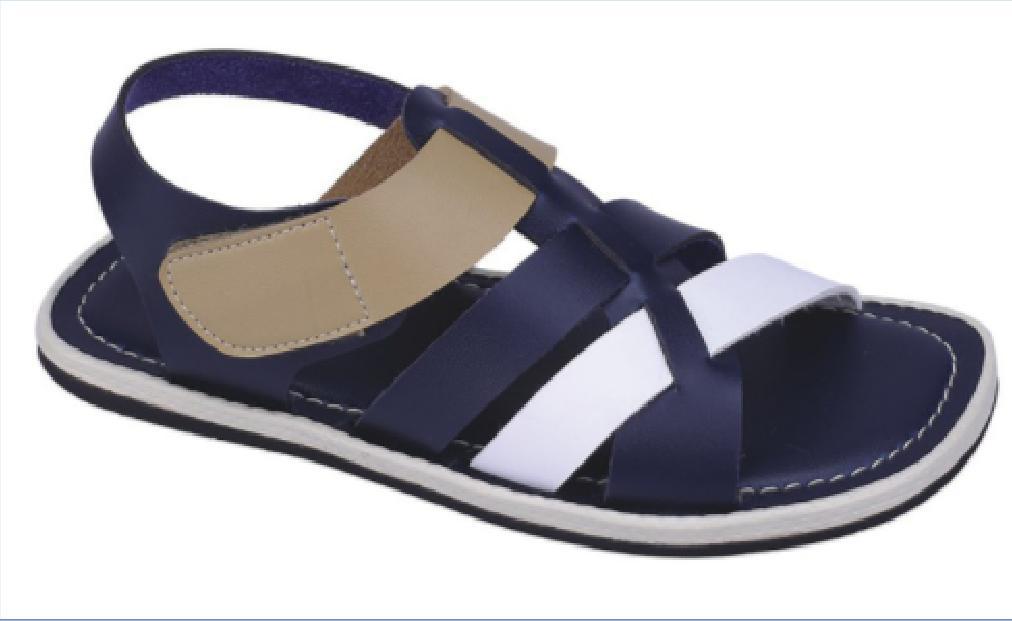 039CHM, sandal casual/pesta/santai anak laki-laki/cowok, model kulit