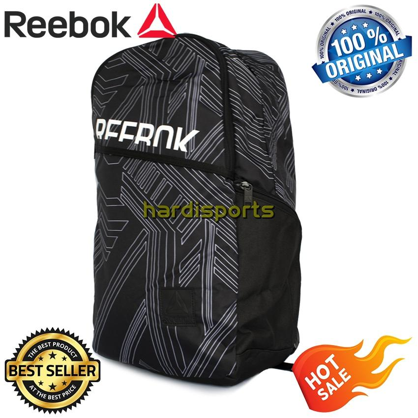 Tas Punggung Sports Reebok Style Found Active GR BP CD2164 - Black