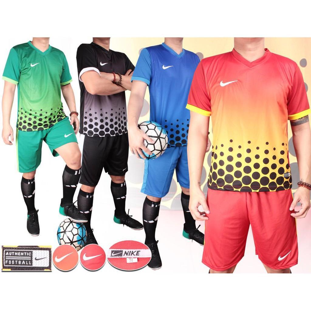 NIKE POLKADOT baju kaos stelan setelan jersey futsal sepak bola NIKE