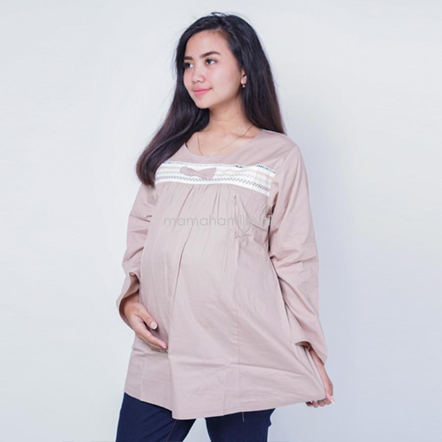 Mama Hamil Baju Hamil Muslimah Menyusui Ratna Blose / Baju Hamil Untuk Kerja / Baju Hamil Muslim / Baju Hamil Seksi Baju Hamil Gamis / Baju Hamil Kerja Modis / Baju Hamil batik / Baju Hamil Menyusui