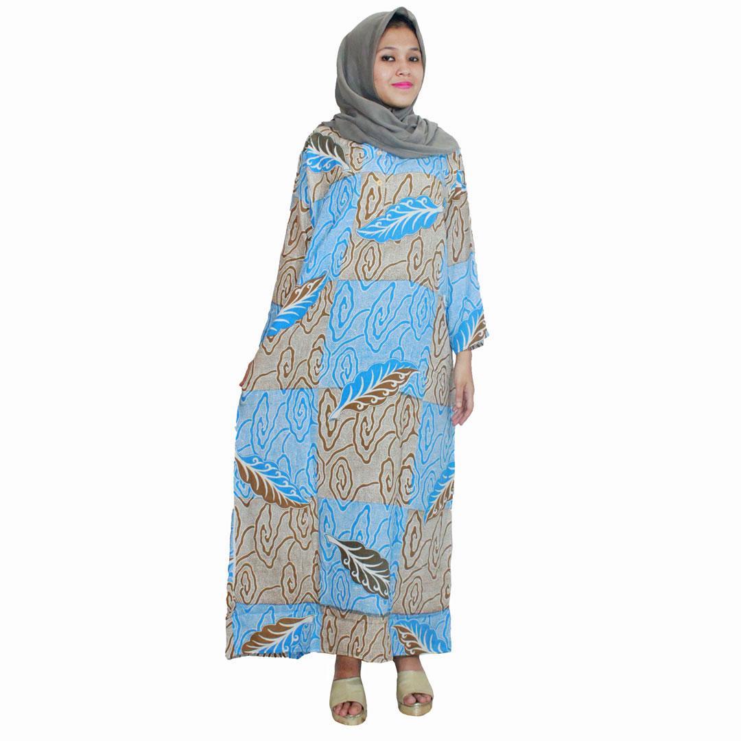 Longdres Batik, Daster Lengan Panjang, Baju Tidur, Kancing, Daster Bumil - Busui (LPT001-06) Batikalhadi Online