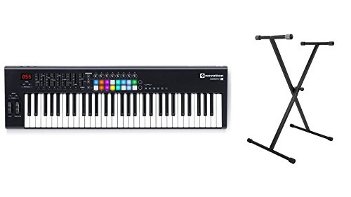 Novation Launchkey 61 MK2 w/ On-Stage Keyboard Stand Bundle