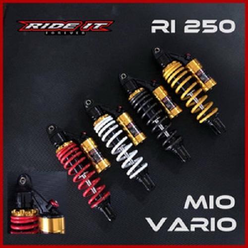 Shock Tabung Matic RI 250 By RIDE IT RXKING SUPRA NINJA150 JUPITER Z CB150 CBR150 CB GL MAX GL PRO TIGER MX VARIO BEAT SCOOPY MIO