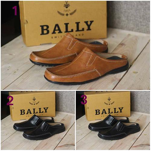 Promo Sepatu Casual Pria Bally Bustong Santai Kerja Kantor GRATIS 1KAOS KAKI Fashion