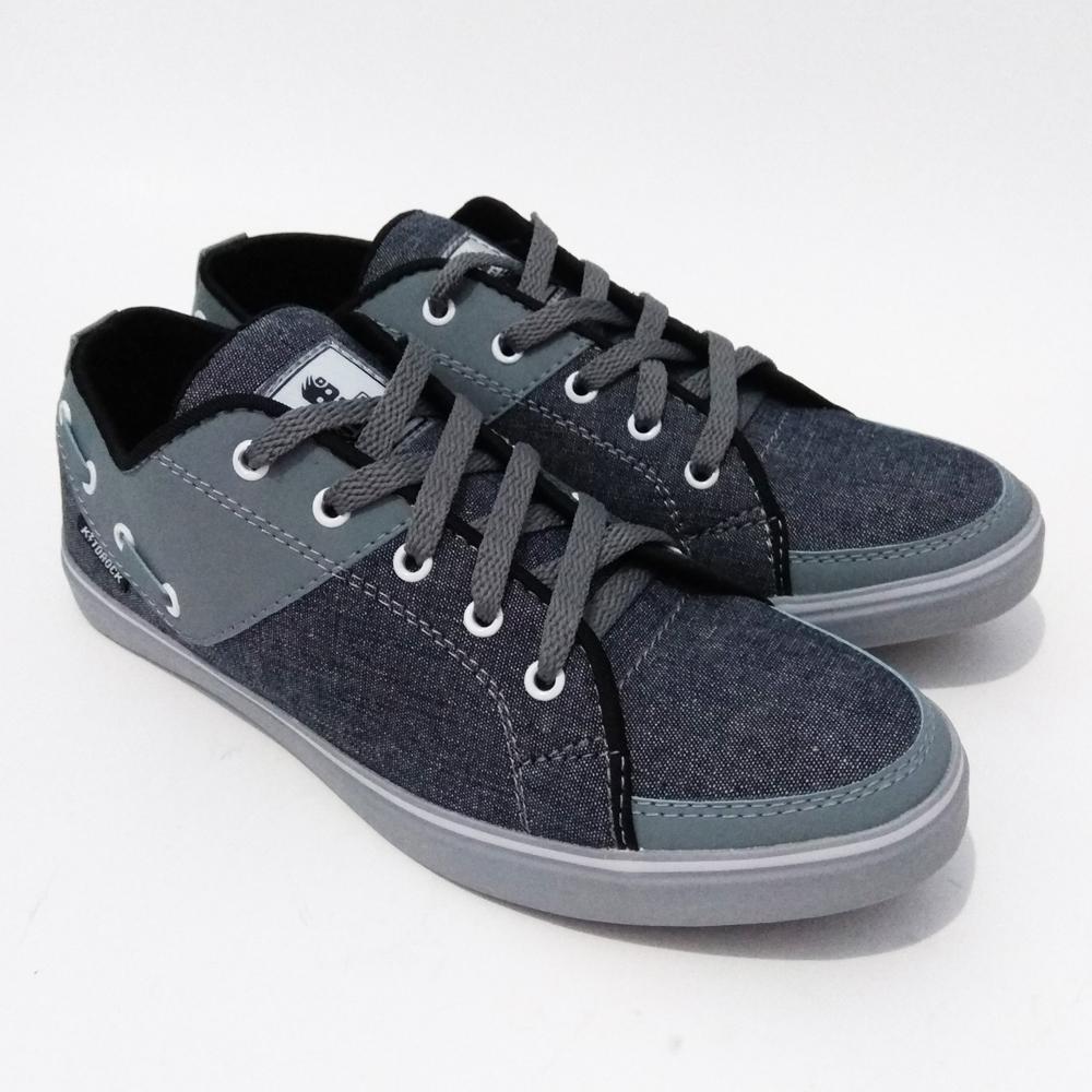 Just Cloth Sepatu Sekolah Sneakers Casual Pria Wanita Vans Kiddrock Model Pendek