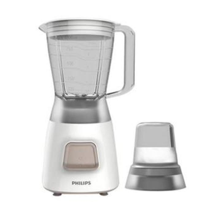 PHILIPS Blender Plastic HR 2056 Grey Bonus Mill / Harga Murah