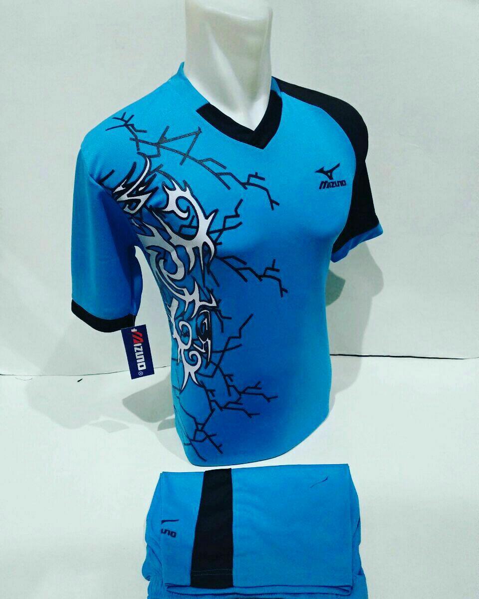 Baju Olahraga Jersey Bola Kaos Setelan Futsal / Volly Mizuno