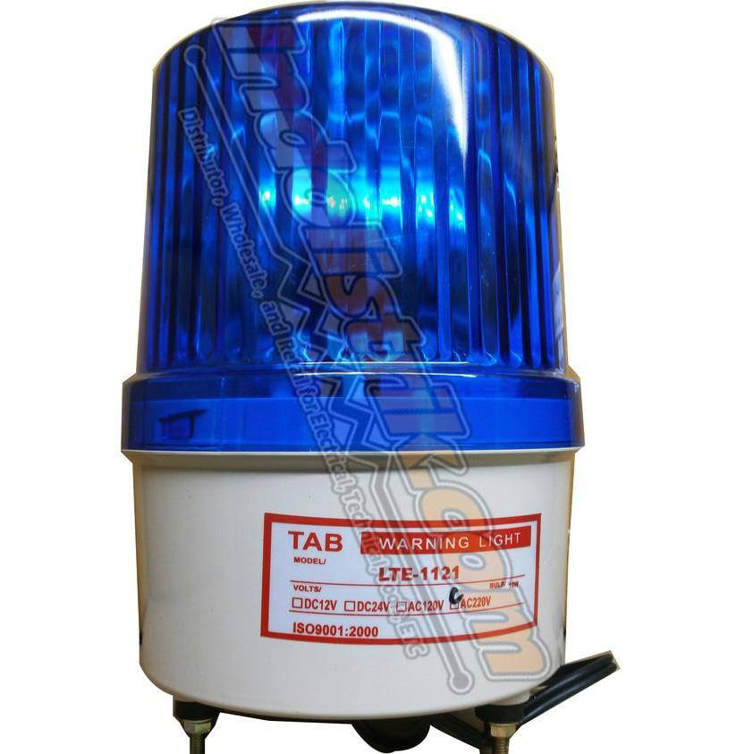 ELEKTRO - LAMPU WARNING LIGHT ROTARY 6 INCH TAB - BRUSHSTORES