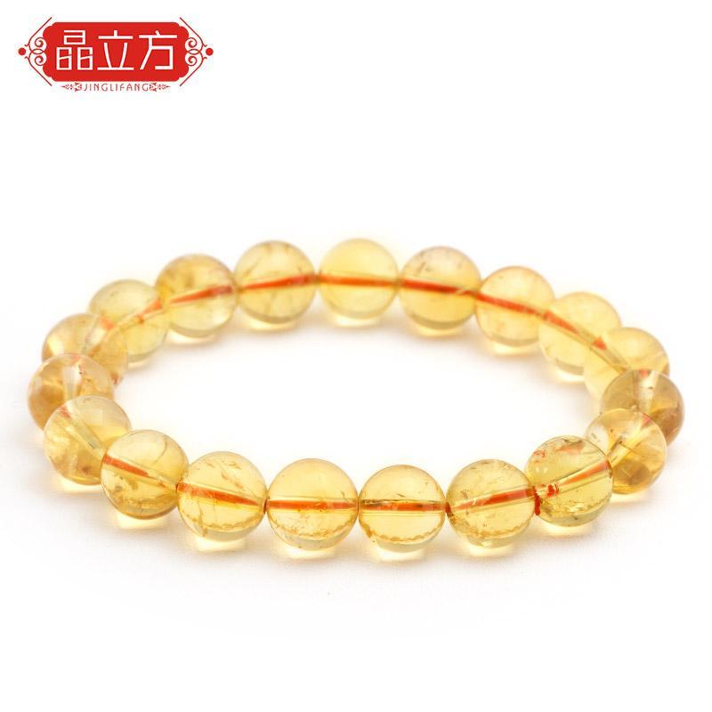 Beberapa Gelang Kubik Kristal Kuning Gelang Manik Warna Kuning Emas Hemat Biaya