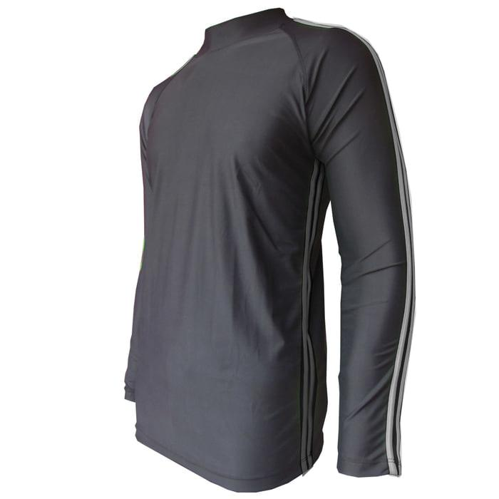 Baju renang atasan lengan panjang bahan lycra baju renang pria wanita