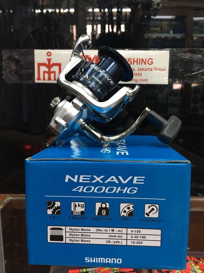 Reel Shimano Nexave 4000 HG - yC3o7e