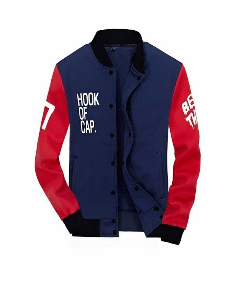 H~Shico - Jaket Baseball Pria H.O.C | Busana Pria | Jaket Pria | Outwear Pria | Jaket