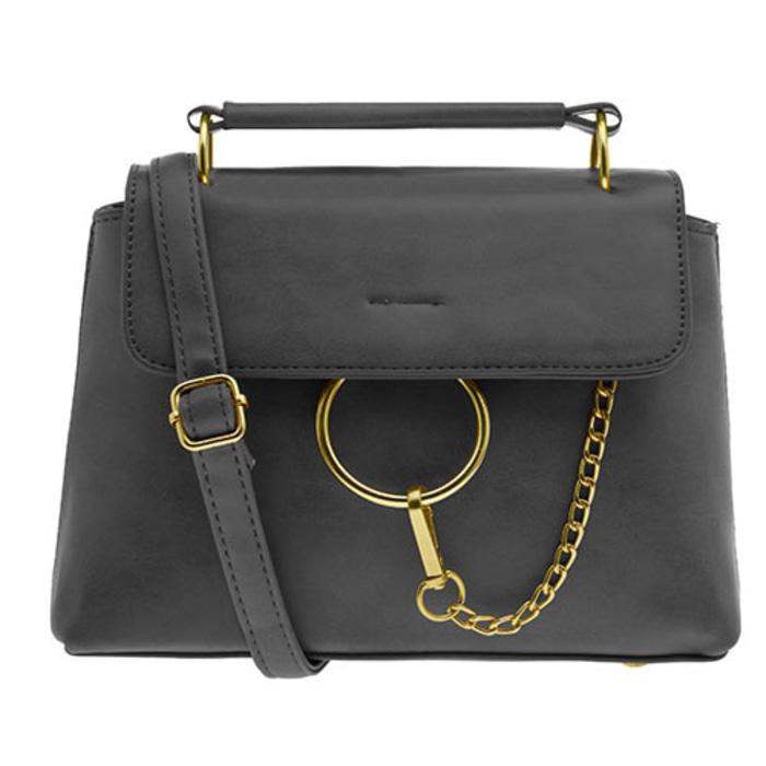 Les femmes small bag dark grey BSM170403050 - SB-DGR