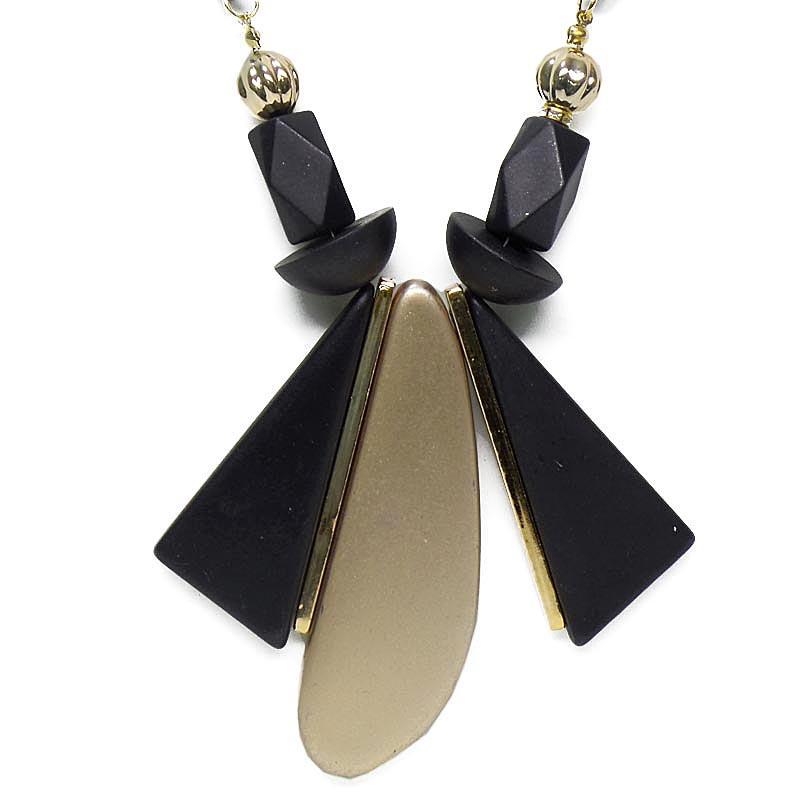 ... OFASHION Aksesoris Kalung CA-180314-K004 Necklace Fashion Xuping Jewelry Hitam Hitam - 4 ...