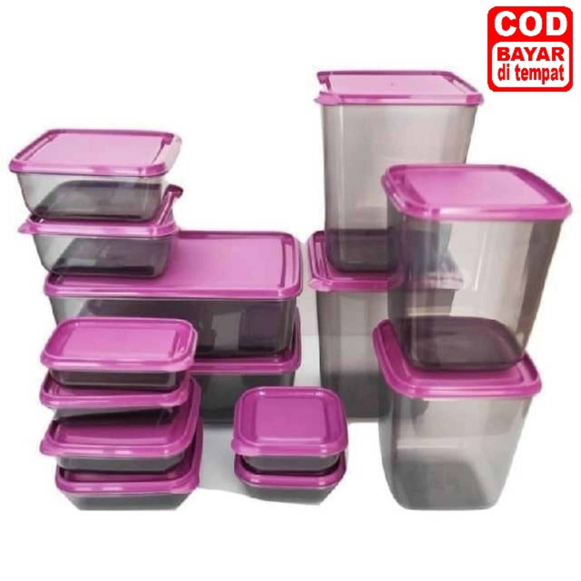 Toples Calista Sealware - Toples Calista Plastik Bening - Isi 14pc